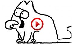 Simon's Cat: Window Pain #SimonsCat, #humor, #funny, #pinsland, #videobox, https://apps.facebook.com/yangutu