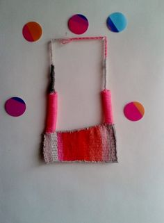 KIKA  hand woven statement necklace in bright by MerakibyStevie, $50.00