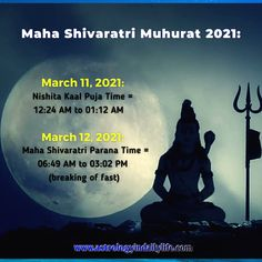 MAHASHIVRATRI POOJA TIMINGS Shiva Meditation, Gayatri Mantra, Capricorn Sign, Breathing Techniques, We Energies, Physically And Mentally, Great Night, Healthy Kids, Peace Of Mind