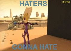 [GIF] Code Lyoko - Haters Gonna Hate by Obysan