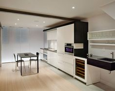 basement by KUBE architecture http://www.houzz.com/photos/520264/Urban-Retreat-contemporary-basement-dc-metro