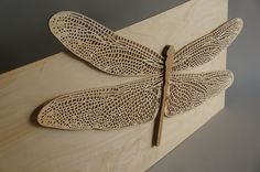 Dragonfly deco - CNC works / Sunghyun An
