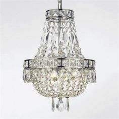 Gallery Lighting 702-3 3 Light Crystal Large Pendant