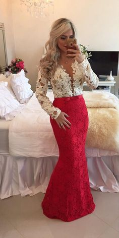 Lace Prom Dresses Party Gown Cocktail Formal Wear pst1499