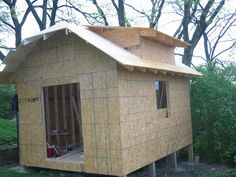 Awesome DIY Shed Build.  Well Documented