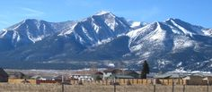 Mt. Princeton (14,197 ft) in Chaffee County, Colorado. One of my favorite pictures from Steve!