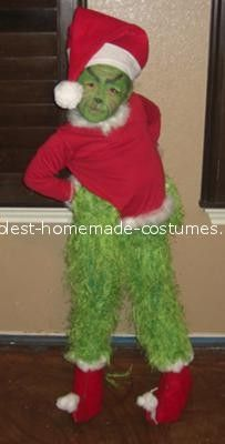 Coolest Grinch Costume ...This website is the Pinterest of birthday cakes & DIY cindy Lou who u0026 grinch costume! | costumes | Pinterest | Grinch ...