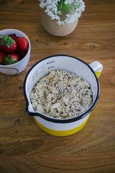 come preparare la colazione con il Bircher Muesli foto di Amelia Crook