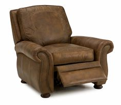 Traditional Leather Recliner