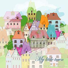 Petite ville à dessiner
