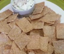 Golden Rice Crackers - Gluten, Dairy & Nut Free