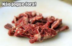 PANELATERAPIA - Blog de Culinária, Gastronomia e Receitas: Aparas de Carne