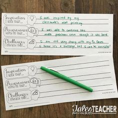 Tales from a Very Busy Teacher: Three Ways to Implement Growth Mindset {in the classroom}