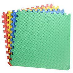 48 SQ FT 12 X NEW Soft EVA Foam Interlocking Kids Play MAT GYM Floor Garage Mats | eBay