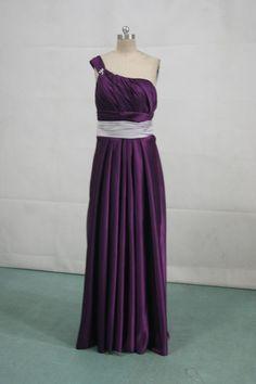 silver bridesmaid dresses | grape and silver bridesmaid dress