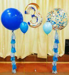 Воздушные шары гиганты. Декор детского праздника. Воздушные шары. www.kids-prazdnik.com.ua