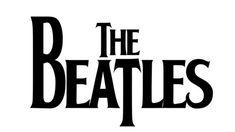 The Beatles logo has several signs in it. It's symmetric (prolonged T letter ...