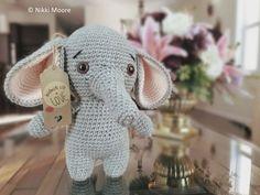 New crochet patterns free elephant amigurumi 18 ideas Crochet Elephant Pattern Free, Crochet Patterns Amigurumi, Crochet Hooks, Crochet Baby, Free Crochet, Free Pattern, Crochet Projects, Blog, Elephant Hat