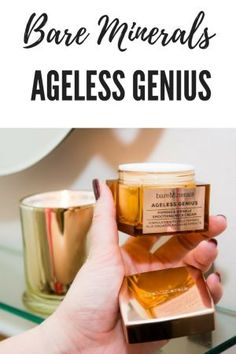 Bare Minerals Ageless Genius - Champagne and Blush Best Makeup Tutorials, Best Makeup Products, Beauty Products, Beauty Secrets, Diy Beauty, Ageless Cream, Cut Crease Tutorial, Acne And Pimples, Beauty Must Haves