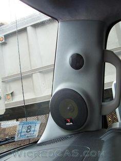 Toyota - FJ A-Pillar Speaker system. 2 way pods. Fj Cruiser Mods, Toyota Fj Cruiser, Fj Cruiser Interior, Fj Cruiser Accessories, Car Audio Installation, Jeep Truck, C10 Trucks, Toyota 4x4, Magic Box