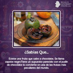 ¿#SabíasQue Existe una fruta que sabe a chocolate? #Curiosidades #Gastronomía