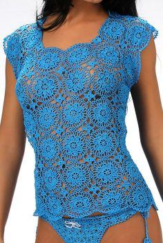 Koniakow crochet lace t-shirt
