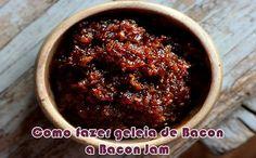 Sucesso em hamburguerias, aprenda como fazer a receita de Bacon Jam, a famosa geleia de bacon, que da um gosto incrível nos hambúrgueres.