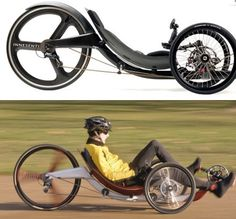 Modern bike created by using Formula 1 and Indy Car racing technology. The Innsenti is basically a tricycle on steroids that is meant for intense exercise or just a leisurely ride. It claims it will maximize your heart rate, burn calories, and keep you in the utmost shape. Upon ordering the machine it is customized for each customer so that the experience is perfectly suited for them. (Link)
