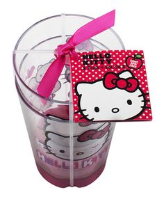 Love this Hello Kitty Tumbler - Set of Two by Zak Designs on #zulily! #zulilyfinds