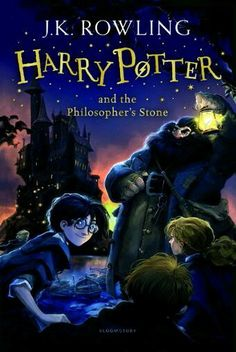 Here are the new UK Harry Potter covers you won't be able to buy. - Harry Potter's publisher, Bloomsbury, announced a new line of covers for the book series. - 'Harry Potter and the Philosopher's Stone' - new Bloomsbury cover by Jonny Duddle Harry Potter Book Covers, Saga Harry Potter, Mundo Harry Potter, Harry Potter World, Rowling Harry Potter, Harry Potter Enfants, Hogwarts, Hp Book, Cunha