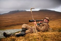 Gordon Muir is the gamekeeper of Tarbert Estate on the Isle of Juram Scotland. Muir takes deer stalkers out on the hills of Jura. Scottish Greetings, Isle Of Jura, Deer Stalking, Scotland History, West Coast Scotland, Scottish Islands, Mountain Man, British Isles, Photojournalism