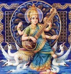Maa Saraswati (via facebook: Khatu Shyam ji ( Shyam Baba ))