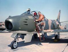 Orange Logic - Sabre Jet in Vietnam War Camouflage Livery Landing on Runway Military Personnel, Military Aircraft, Fighter Aircraft, Fighter Jets, Sabre Jet, Wings Etc, Jet Fly, F4 Phantom, F-14 Tomcat