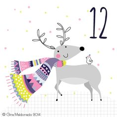 Christmas countdown Day 12 #advent #Christmas © Gina Maldonado 2014