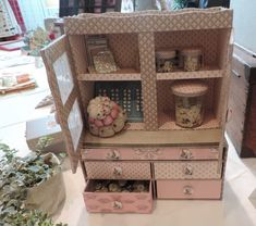 Pretty little sewing chest