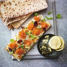 Heston Blumenthal's party flatbreads. Full the full recipe and more, click the image or visit Redonline.co.uk