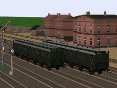 DRG Personenwagen 3. Klasse, Gattung - C3 pr06 - Set 3