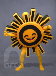 Botarga Sol PRD ¡Conoce más botargas de partidos políticos y figuras humanas aquí! http://www.grupoarco.com.mx/venta-de-botargas/botargas-de-figuras-humanas-en-mexico/