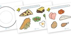 Healthy Eating Meal Activity printable