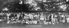 Annual Picnic Vantruba Social and Welfare Club Bowen Island July 16th 1927 - City of Vancouver Archives