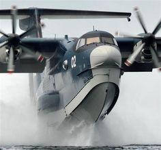 救難飛行艇US2(海上自衛隊提供)