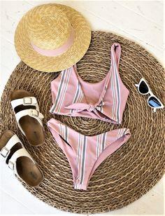 Be beach ready with this cute bikini!