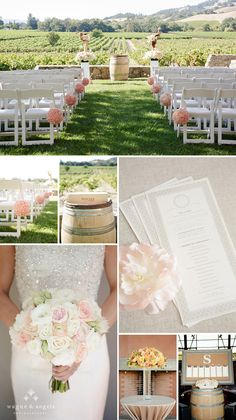 napa valley sonoma wedding ceremony details