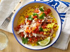 Our Slow-Cooker Salsa Chicken is an extremely versatile recipe to add to your dinner rotation. There are countless ways to serve this recipe, so the kids will never get tired of it. Here we suggest serving the chicken over rice, but it would also be … Crock Pot Recipes, Slow Cooker Recipes, Chicken Recipes, Cooking Recipes, Slow Cooking, Dump Recipes, Crockpot Dishes, Chicken Meals, Pressure Cooking