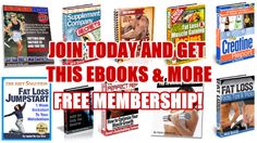 Free ebooks abou t#fitness, #bodybuilding, workout at home, muscle building at home, no gym workout for women and no gym workout for men