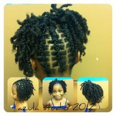 Beautiful Two strand twists.