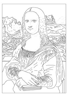 Famous Art Coloring Pages Famous Arti Coloring Pages With Famous St ...