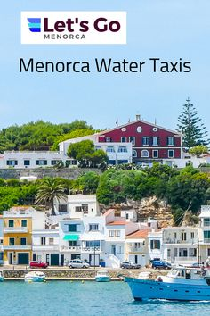 Make sure you take one of the Water Taxis on your next visit to Menorca. Great fun and discover some unique beaches on the island that are only accessible by foot or boat. #menorca #menorcabeaches #menorcaspain #menorcawatertaxis