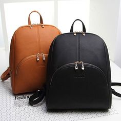 2015 New Design!Fashion Women Outdoor Sports Backpack PU leather Black and Naturals Travel Bag casual vintage girls shoulder bag on Aliexpress.com | Alibaba Group