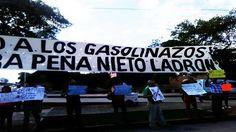 Cancún se une al grito de protesta 'No al Gasolinazo'  [Video]